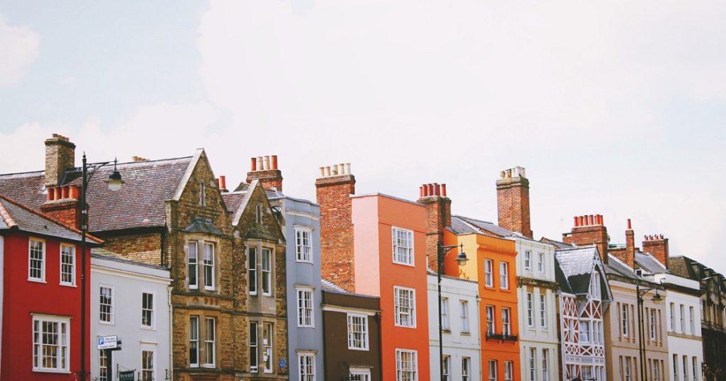 住宅の街並み