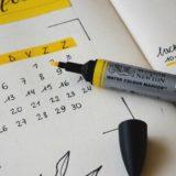 学習計画カレンダー